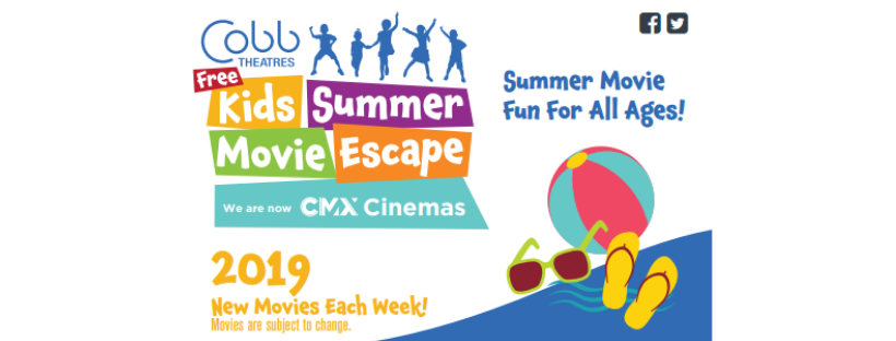Cobb Theaters Daytona Announces 2019 Free Summer Movie Schedule The Volusia Mom
